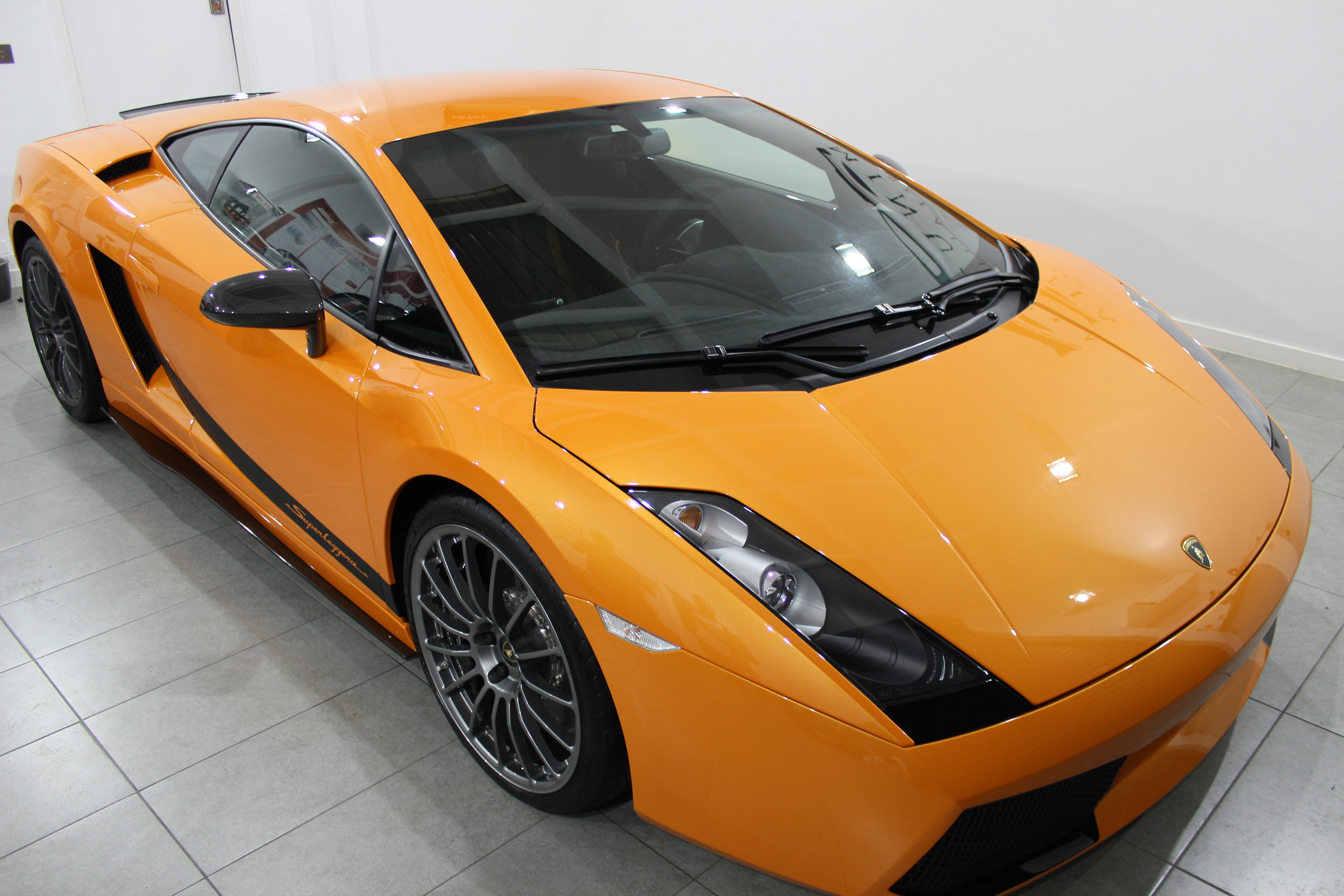 minutia detailing lamborghini gallardo superleggera. Black Bedroom Furniture Sets. Home Design Ideas